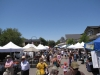 Looking the other direction on Angela Street on Farmer's Market Saturday mornings!
